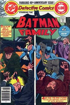 Cover for Detective Comics #483 first appearance of Maxie Zeus