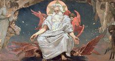 Victor Mikhailovich Vasnetsov- God the Father, 1885