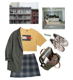 """through the window"" by paper-freckles ❤ liked on Polyvore featuring Cacharel and adidas"