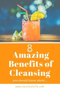 8 Amazing Benefits of Cleansing You Should Know About. #superfoodcleansing #weightloss #Cleansing