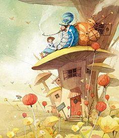 ALICE IN WONDERLAND BY KIM MIN JI