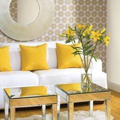 Interior Design photo by Cori Magee Album - Gray + Yellow: Haute Color Combination