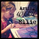Arting With Ellie - a video about how my daughter arts in her Art Journal