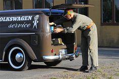 VW Beetle Service Van