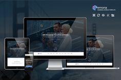 SEMONA | Business Joomla Template by templaza on Creative Market