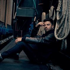 Dominic Coop seen in Article Magazine wearing the Sterling Bomber Jacket