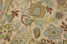Richloom / Better Homes & Gardens Jayda Printed Cotton Drapery Fabric in Bramble $19.95 per yard