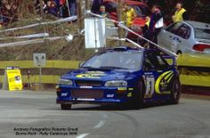 Subaru Impreza WRC, Richard Burns and Robert Reid, Rally Catalunya 2000.