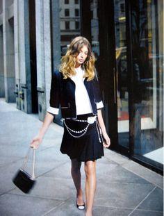Daria Werboy for Chanel