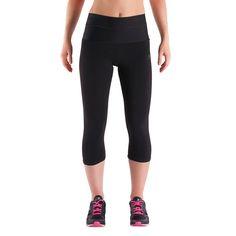 Corsaire effet ventre plat SHAPE+ fitness femme noir DOMYOS 60fab8c6d8a