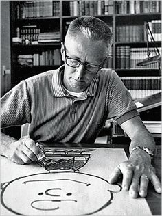 Charles Schulz, the creator of Peanuts.