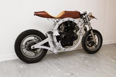 """""""Tinker"""" Open Source Cafe Racer by Jack Lennie 