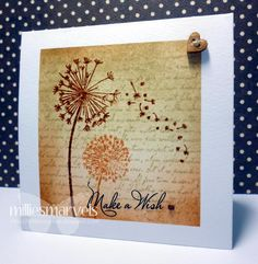 My Mum's Craft Shop: Playing with Distress Inks and Inkylicious stamps
