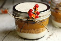 Layered Pumpkin Pie in a Jar | Tasty Kitchen: A Happy Recipe Community!