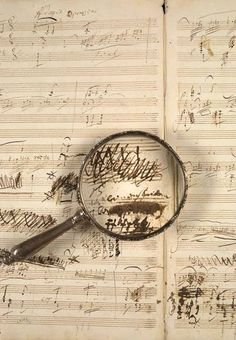 -- Beethoven's manuscript for his Violin and Piano Sonata - Op. 96 in G Major --