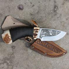Нож подарочный Гном OldOn knife для необыкновенного памятного подарка мужчине ко…
