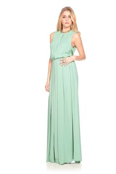 green long