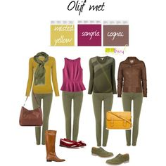Olive with misted yellow, cognac and sangria by lidathiry on Polyvore featuring мода, Burberry, Paul Smith, Mossimo, ONLY, 7 For All Mankind, Jonak, Repetto, Forever 21 and Faliero Sarti