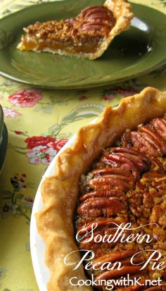 Pecan Pie {Granny's Recipe her secret to making the perfect filling!} Southern Pecan Pie {Granny's Recipe + her secret to making the perfect filling!}Southern Pecan Pie {Granny's Recipe + her secret to making the perfect filling! Pecan Recipes, Pie Recipes, Dessert Recipes, Cooking Recipes, Pecan Desserts, Easy Recipes, Southern Desserts, Southern Recipes, Puddings
