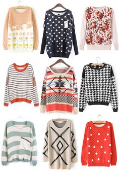Sweaters for $35 or less! | http://prettylifeanonymous.blogspot.com/