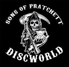 I think it should day Children of Pratchett. Sons of Pratchett by funkydpression.deviantart.com on @DeviantArt