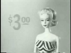 The original Barbie TV ad, can you believe it?????