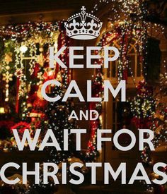 keep calm and wait...