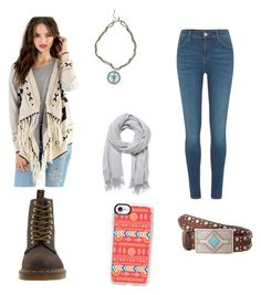 """""""Untitled #85"""" by tphillips356 on Polyvore featuring Tobi, Dr. Martens, River Island, Witchery, Casetify and M&F Western"""