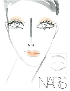Retro Makeup NYFW Spring 2013 NARS Cosmetics Trends: How To Get A Retro Makeup Look - Tanya Taylor Show - Happy Fashion's Night Out everybody! It's that time again: NY Fashion Week! Here at BeautyStat Retro Makeup, Vintage Makeup, Professional Makeup Kit, Makeup Face Charts, Nars Radiant Creamy Concealer, Face Framing, Celebrity Makeup, Makeup Forever, Tutorials