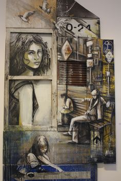 Il reportage della mostra Take Me Anywhere di Alice Pasquini alla Galleria VARSI http://www.creazina.it/eventi/alice-pasquini-take-me-anywhere  Foto di Roberta Solitari