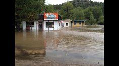 Estes Park Flood   Colorado floods: Estes Park inundated with flood waters   9news.com