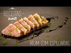 Atum em crosta de especiarias – Receitas Zaffari - YouTube