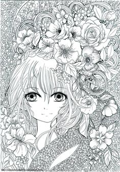 Lineart Page For The Coloring Book That Will Be Released Soon Before Artbook Unipin Signpen In Vellum Board Hello Its Been A Adult