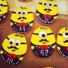 Viva México! Mariachi minion cookies