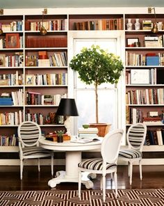 dining room chairs contrast fabric, Domino