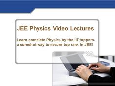 JEE Physics Video Lectures