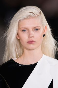 Pin for Later: McQueen, Chanel, and More! See the Best Beauty Looks From PFW Anthony Vaccarello Spring 2015