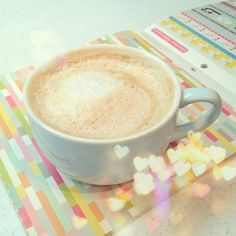 Coffee in the studio