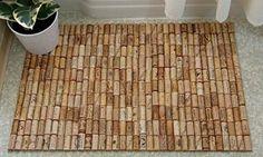 alfombra corchos