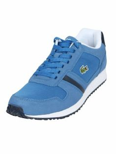 fc3e3f84c £69 Lacoste - Blue Dark Blue Vauban Trainers - Mens  Amazon.co.uk  Shoes    Bags