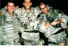 Army Specialist Ross A. McGinnis (left) was posthumously awarded the Medal of Honor for his actions in Iraq on 4 December 2006.  McGinnis threw himself on a grenade to protect his fellow soldiers, saving them from death or serious injufry.