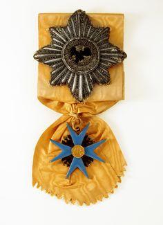 Deutsches Historisches Museum: Bruststern des Hohen Ordens vom Schwarzen Adler, verliehen an König Friedrich II. von Preußen (Inv.Nr. O 55/101)