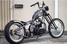 Xs650 Bobber, Bobber Bikes, Bobber Motorcycle, Bobber Chopper, Triumph Motorcycles, Custom Motorcycles, Custom Bikes, Cars And Motorcycles, Cool Bikes