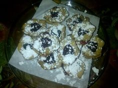 Homemade Linzer Cookies made with Italian flair