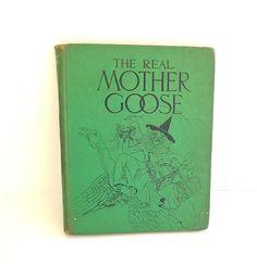 1963 Real Mother Goose Antique Vintage by VintageAndVictorian, $25.00