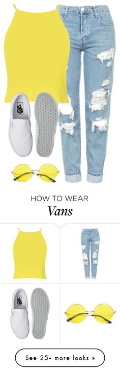"""""""Very cute, yet simple 43"""" by lollypopz951 on Polyvore featuring Topshop, Boohoo and Vans"""