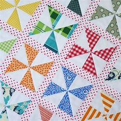 Red Pepper Quilts: Pinwheels on Parade Quilt and New Quilt Pattern