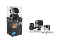 (CLICK IMAGE TWICE FOR DETAILS AND PRICING) GoPro HERO3 Black Edition. The Wi-Fi enabled HERO3 Black Edition is the most advanced GoPro, ever. No expense was spared during its development, resulting in a GoPro that is 30% smaller, 25% lighter and 2x more powerful than previous models. Wearable .. . See More Camcorder Products at http://www.ourgreatshop.com/Camcorder-Products-C156.aspx
