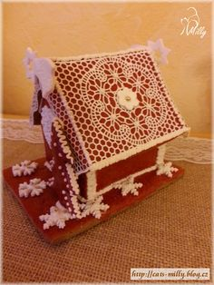 gingerbread house Gingerbread, Decorative Boxes, House, Home Decor, Decoration Home, Home, Room Decor, Ginger Beard, Home Interior Design