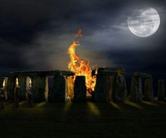 Stonehenge is a prehistoric monument in Wiltshire, England. An energy portal, or a place of power. There are 14 major key lines that converge at Stonehenge making a powerful vortex. Samhain, Origin Of Halloween, Pagan Halloween, Halloween Halloween, Maleficarum, Protection Spells, All Saints Day, Beltane, Wiccan